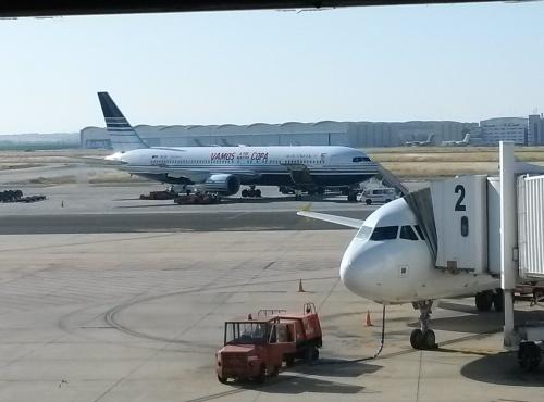 Avión vamos a por nuestra copa